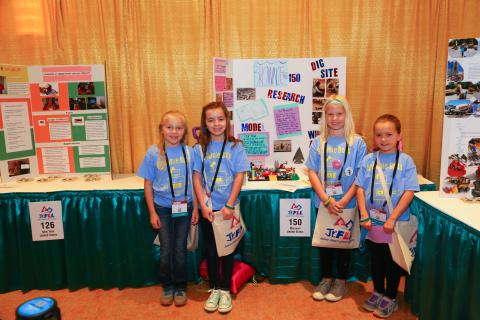 FIRST LEGO League Jr. Students