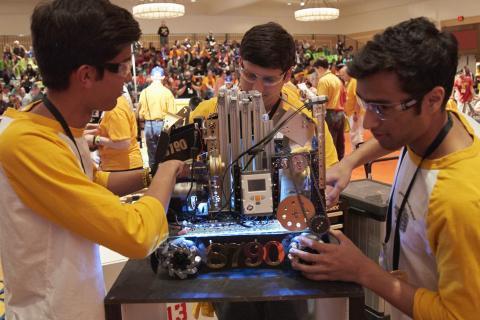 FIRST Tech Challenge Students