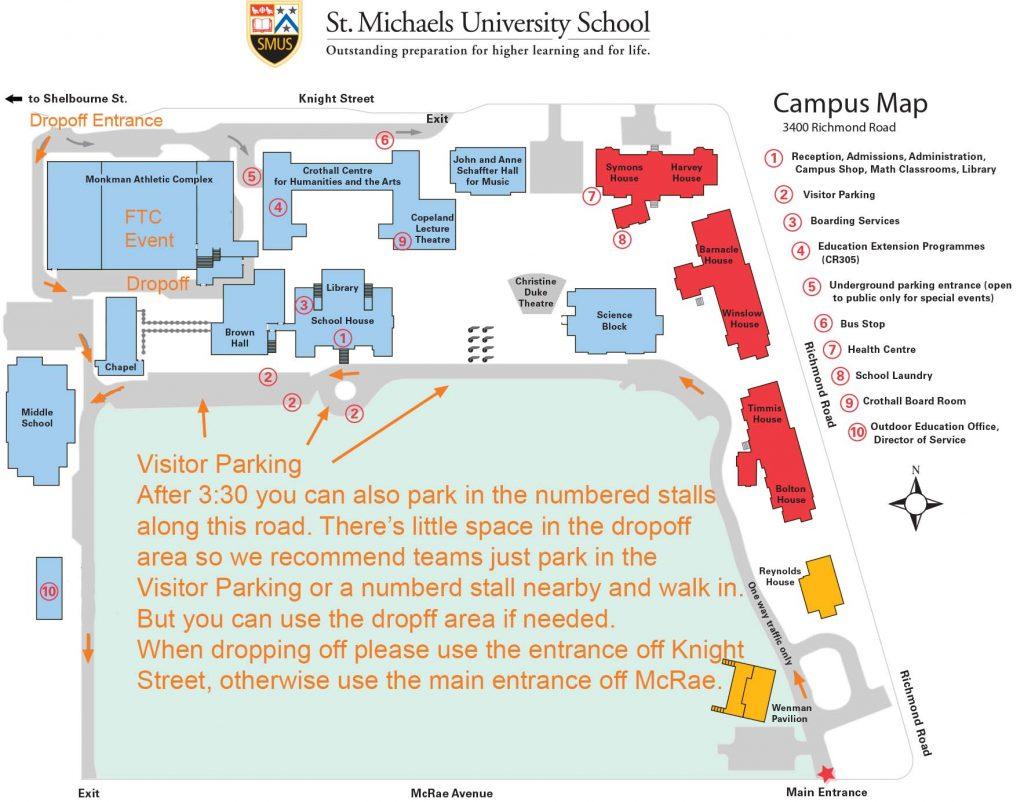 SMUS Campus Map